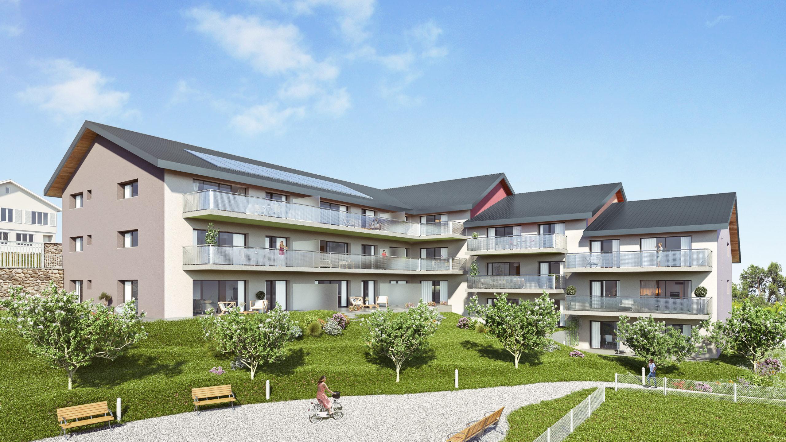Cornaux – La Résidence des Vignes – Appartements neufs de 4.5 pièces