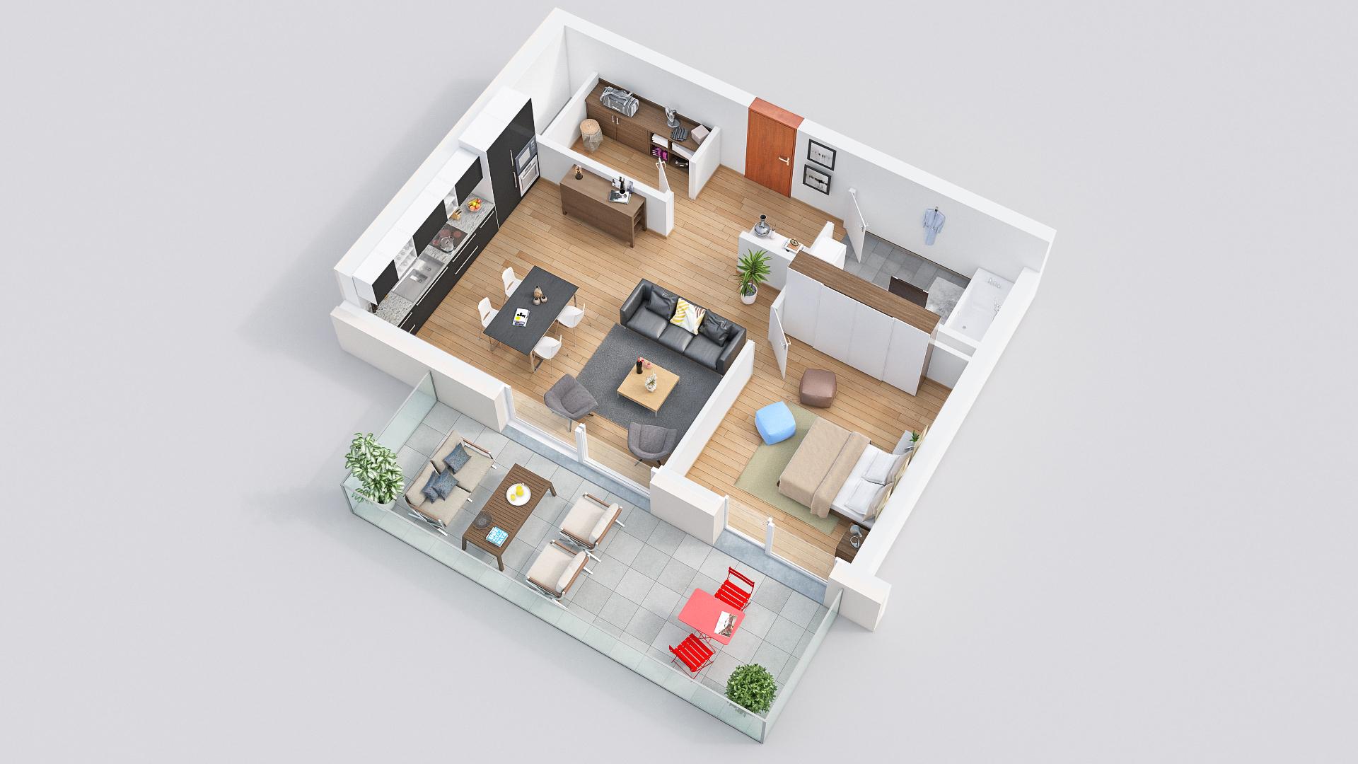 Cornaux – La Résidence des Vignes – Appartements neufs de 2.5 pièces
