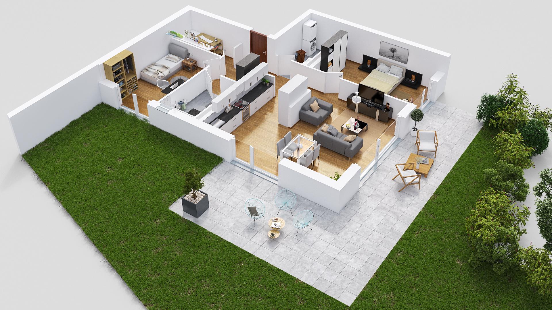 Cornaux-La Résidence des Vignes-appartements neufs de 3.5 pièces
