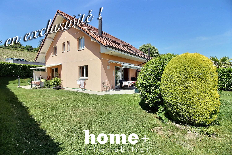 Lonay – Belle villa jumelle de 5.5 pièces aux portes de Morges