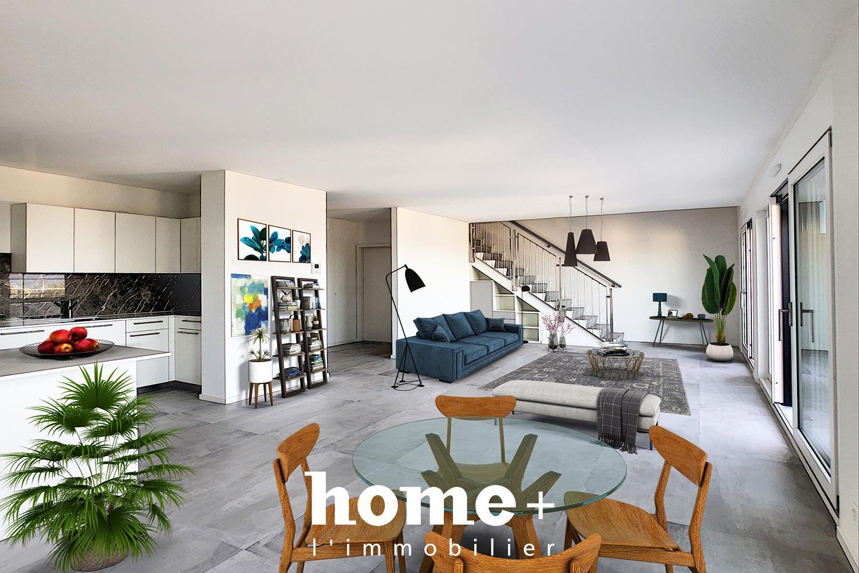 Blonay-Magnifique duplex de 4.5 pièces en attique