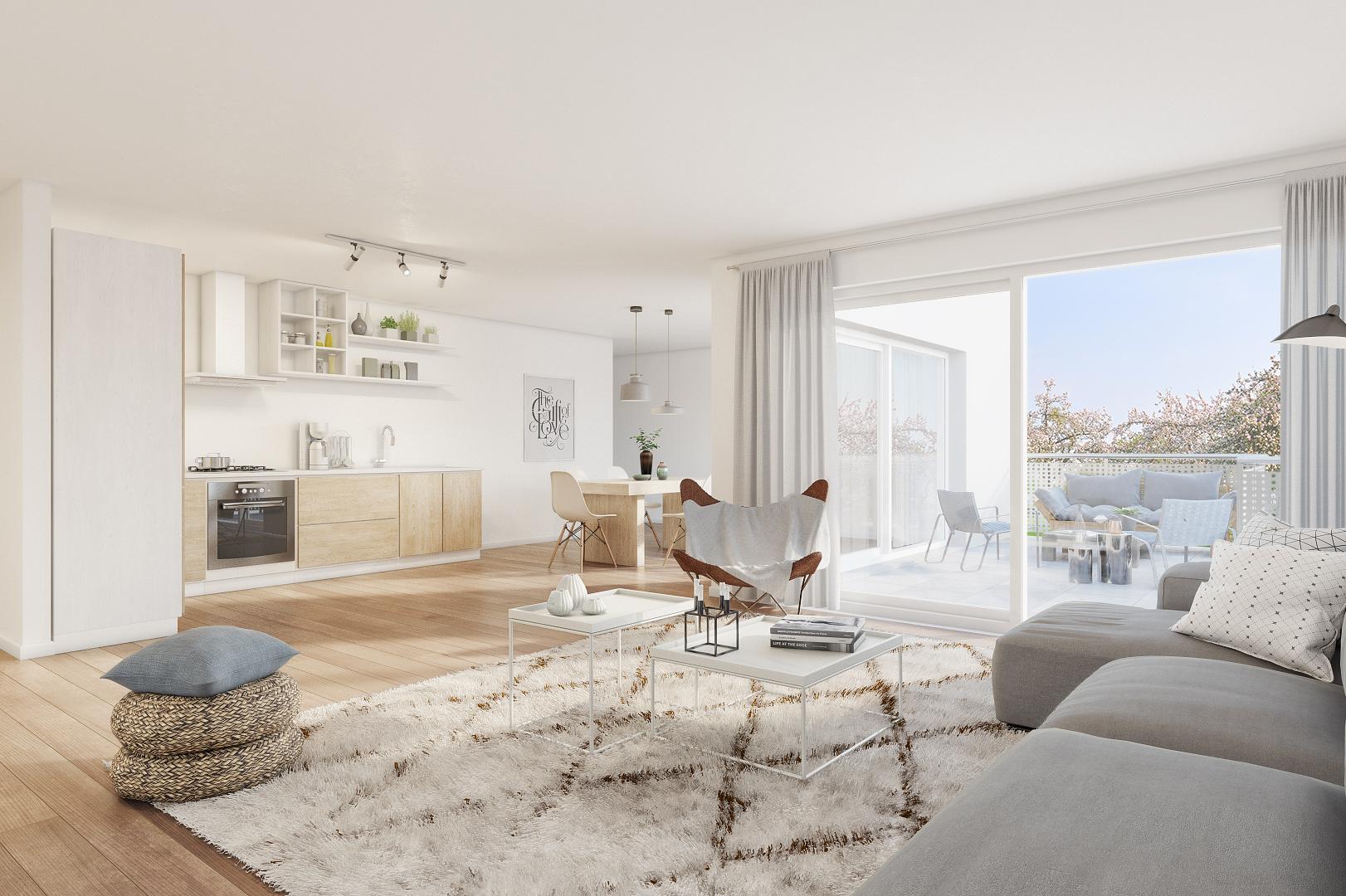 Cornaux-La Résidence des Vignes-appartements neufs de 2.5 pièces