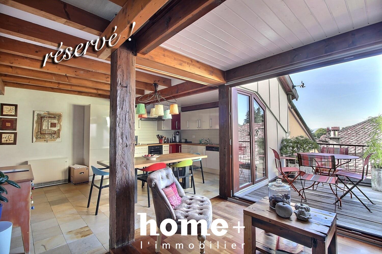 Aubonne – Duplex avec beaucoup de cachet et charmante terrasse