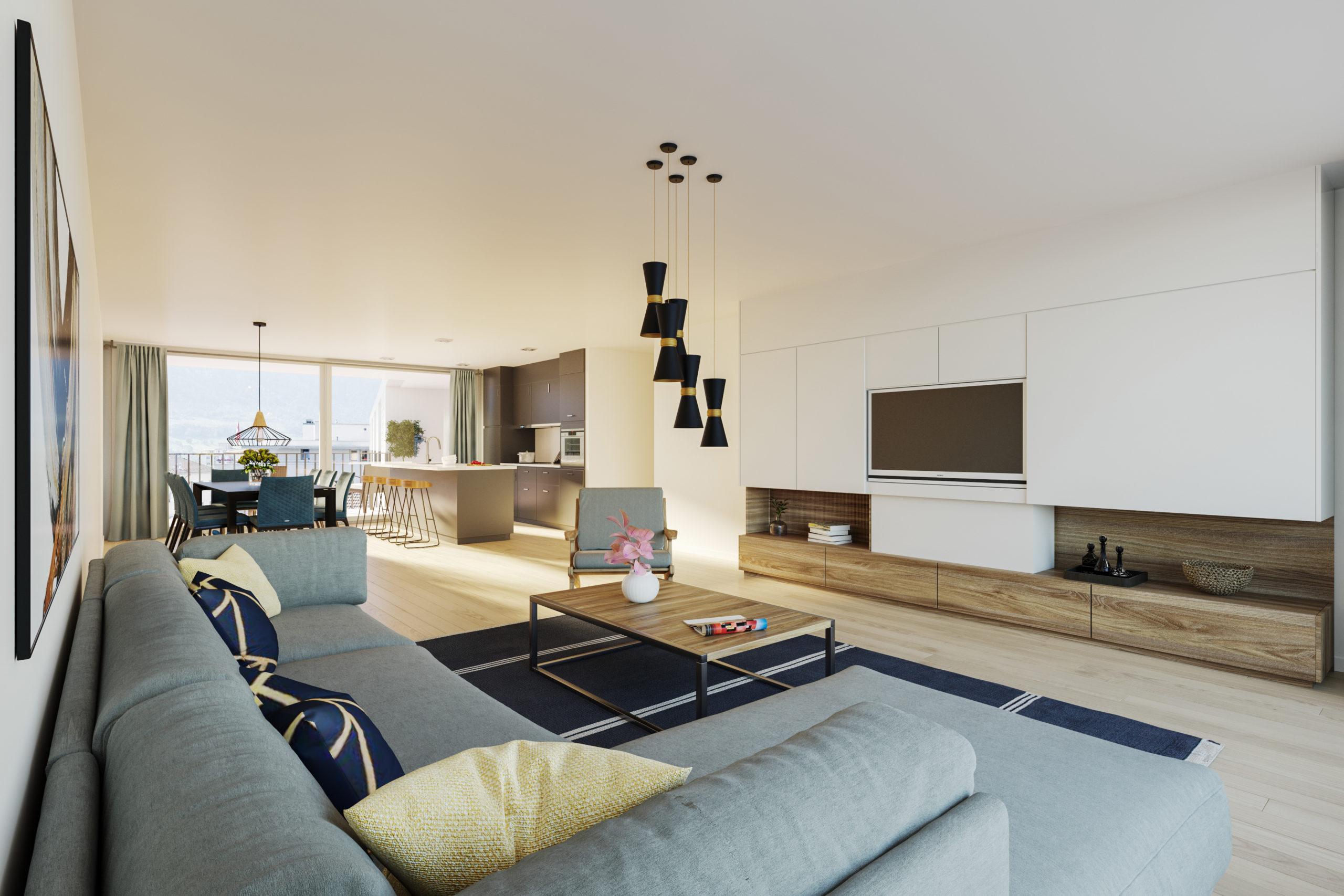 Sierre – Coeur de Ville – appartement neuf de 3.5 pièces