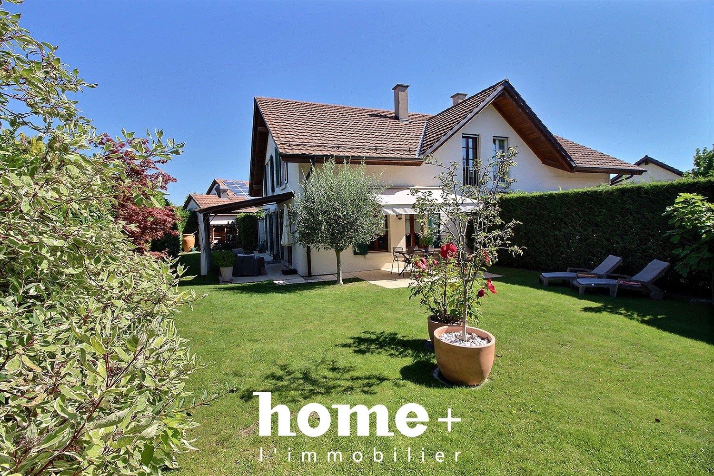 Chavannes-des-Bois, Très jolie maison mitoyenne de 7 pièces