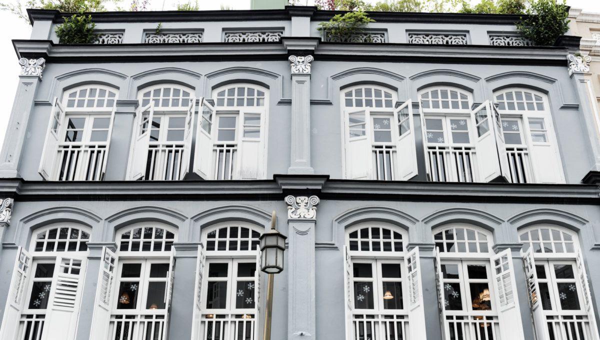 Vintage style building